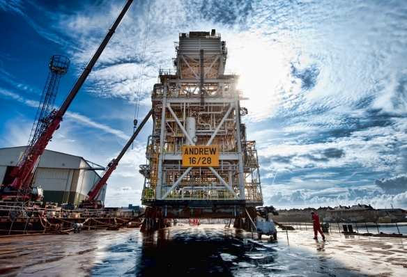 A Key Module for BPs Andrew Platform Rejuvenation Project in the North Sea (photo courtesy of BP p.l.c.)