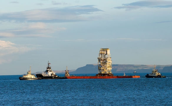 This module will handle production tied-in from the nearby Kinnoull field and is one of three reservoirs that are being developed as part of the rejuvenation of the Andrew area, North sea (photo courtesy of BP p.l.c.)