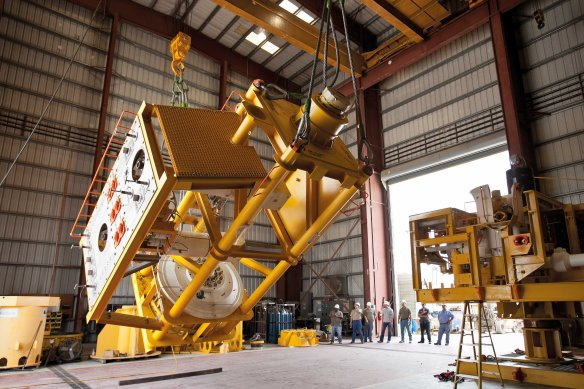 BPs Containment Cap Project (photo courtesy of BP p.l.c.)