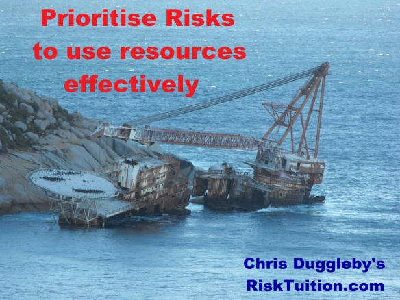 Don't underestimate the importance of prioritising your risks
