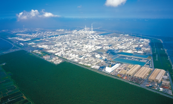 Mai Liao Complex Taiwan where the Formosa BP Chemicals JV was situated (photo courtesy of Formosa Group)